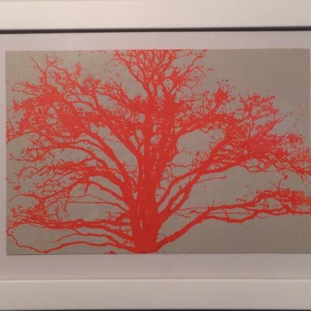 Orange træ